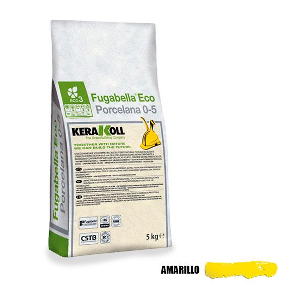 FUGABELLA ECO 0-5 AMARILLO 5 KG