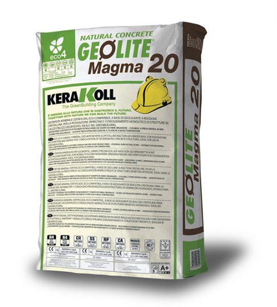GEOLITE MAGMA GRIS 20 M 25 KG